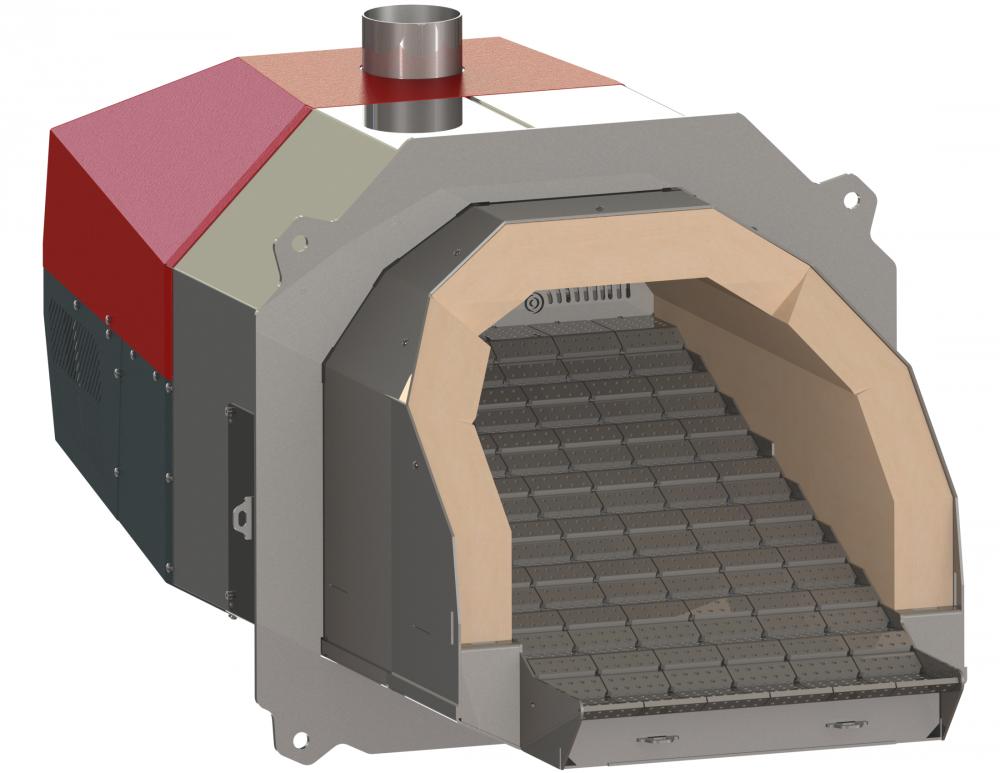Пеллетная горелка OXI Ceramic+ 500 кВт